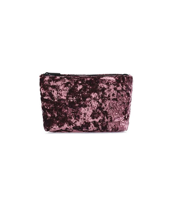 Topshop Velvet Make-Up Bag