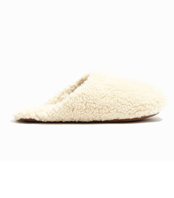 Madewell The Sherpa Slipper