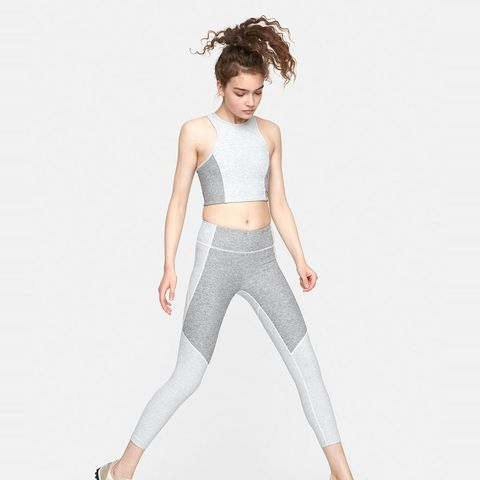 3/4 Two-Tone Warmup Legging