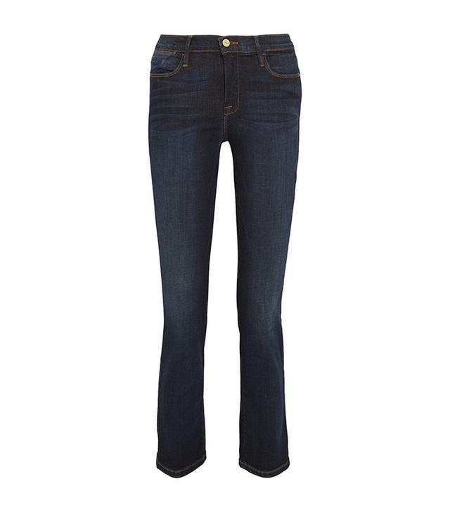 Frame Le High Cropped Slim-Leg Jeans