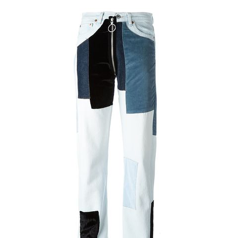 Velvet Patch Jeans
