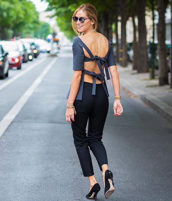 3. Chiara's Dior Top