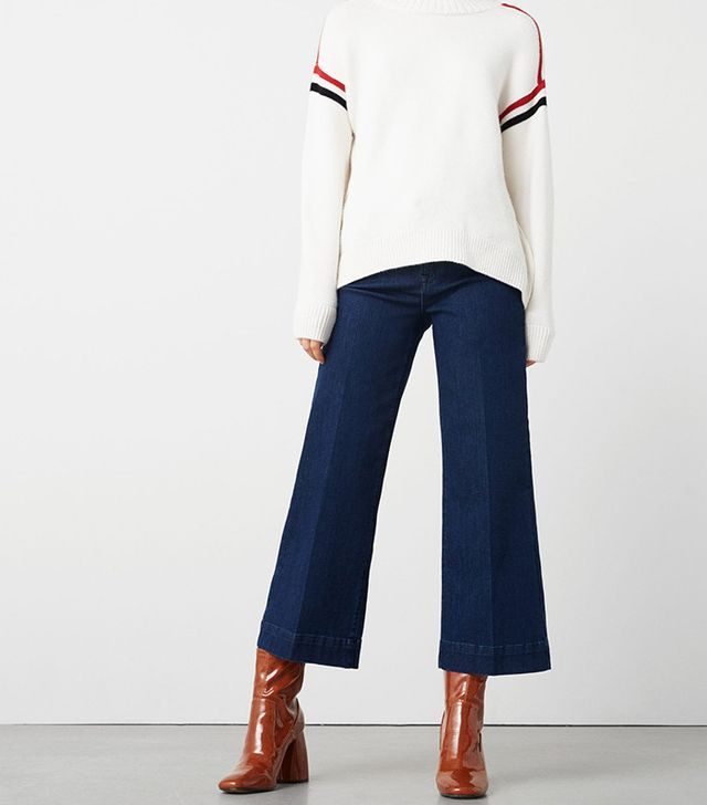 Mango Straight Cropped Nicky Jeans