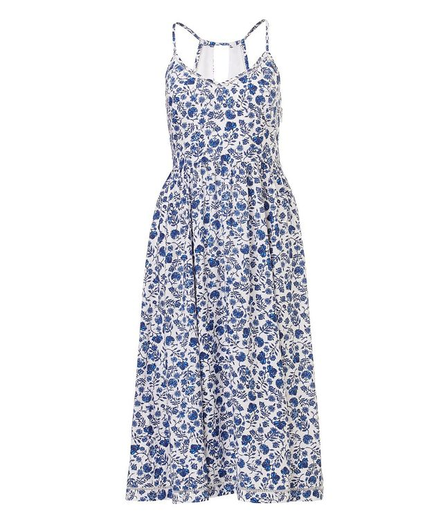 Zara Short Floral Slip Dress