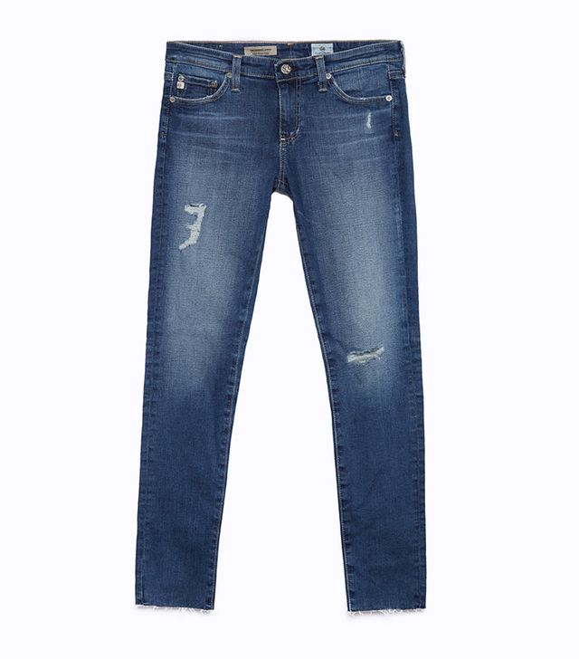AG The Legging Ankle Jeans in 18 Years Destroyed