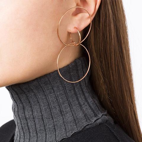 Hooked Hoops Earring