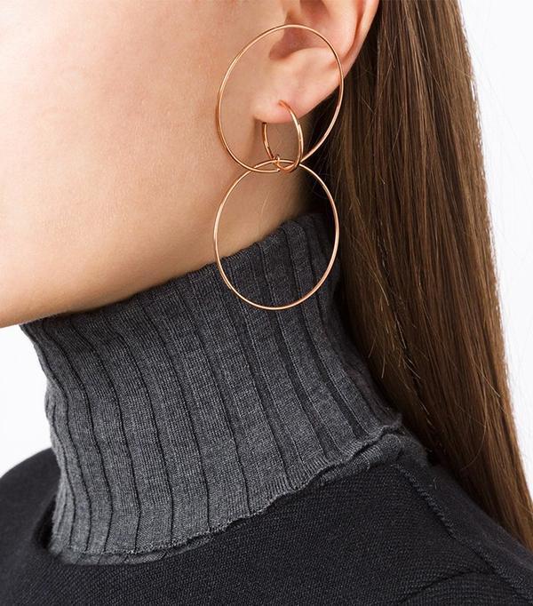 Charlotte Chesnais Hooked Hoops Earring