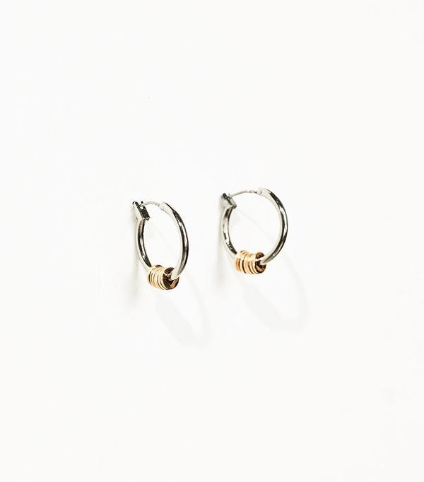 Zara Studio Hoop Earrings