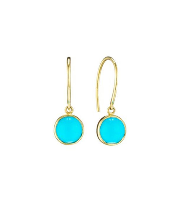 Finn Turquoise Cabochon Earrings
