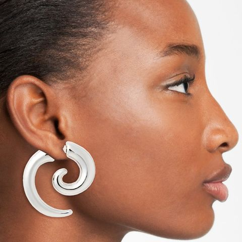 Spiral Illusion Earring
