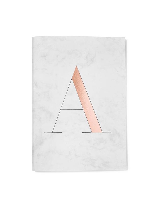 StudioSarah Monogram Notebook