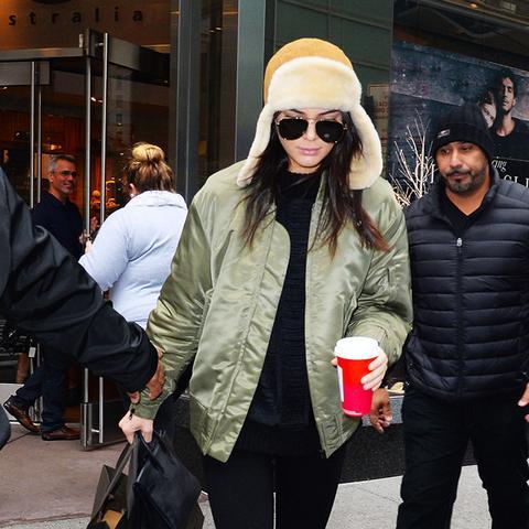 Kendall jenner ugg boot leggings