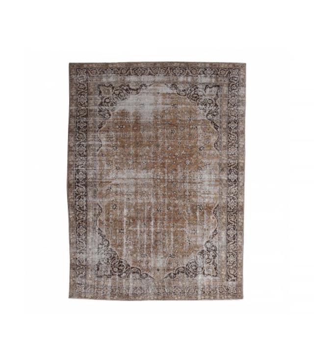 Lawrence of La Brea Antique Turkish Rug