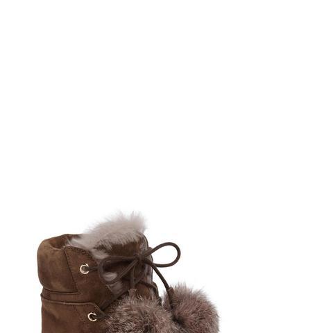 Elba Genuine Rabbit Fur Boot