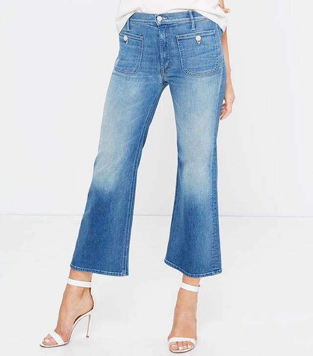 Mother Patch Pocket Maverick Jean