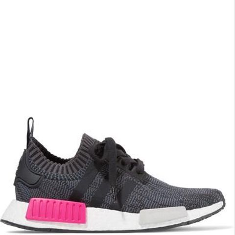 Nmd r1 Rubber-Paneled Primeknit Sneakers