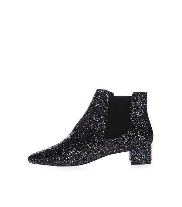 Topshop KRAZY Glitter Boots