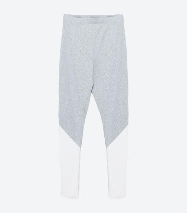 Zara Color-Contrast Leggings