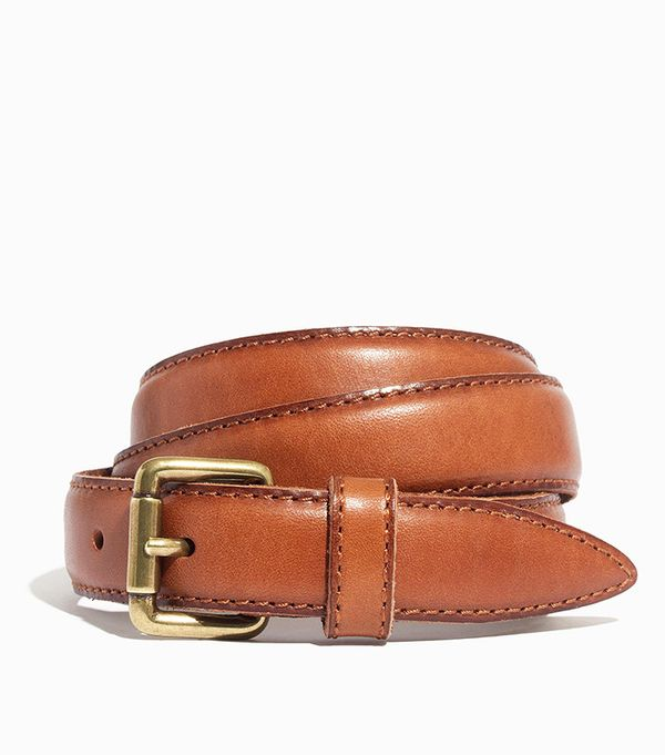 Madewell Stitched Leather Belt