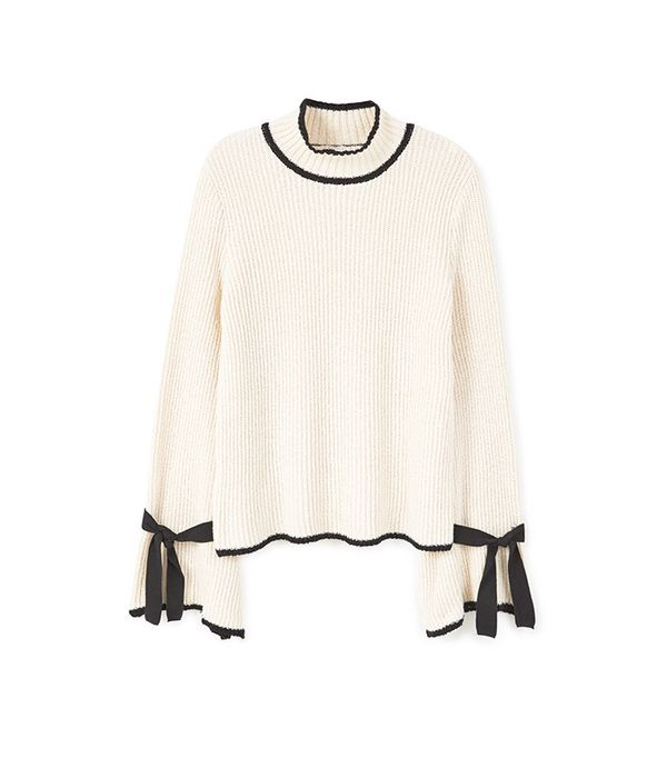 Flared Sleeves Sweater by Mango