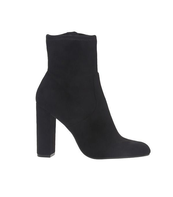 Black Heeled Boot by Steve Madden