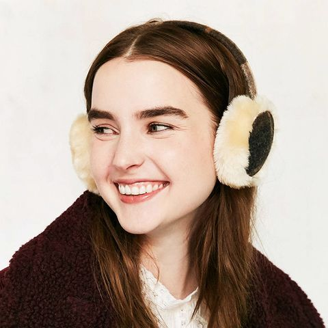 Plaid Flannel Ear Muff