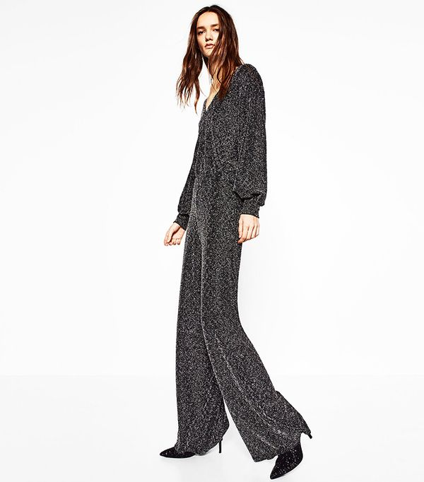 Zara Shiny Long Trouser