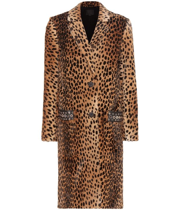 Alexander Wang Printed Fur Coat