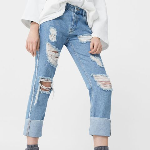 Fringes Relaxed Jeans