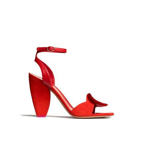 Ruffle Sandal
