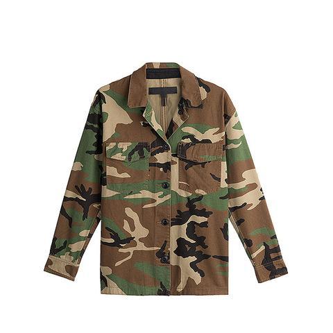 Cotton Camouflage Jacket