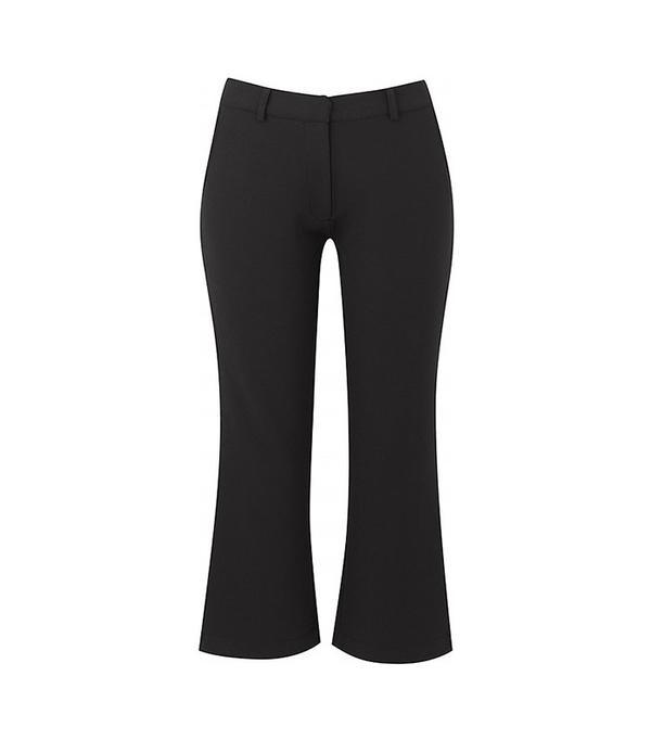 Sosandar Cropped Flare Trouser