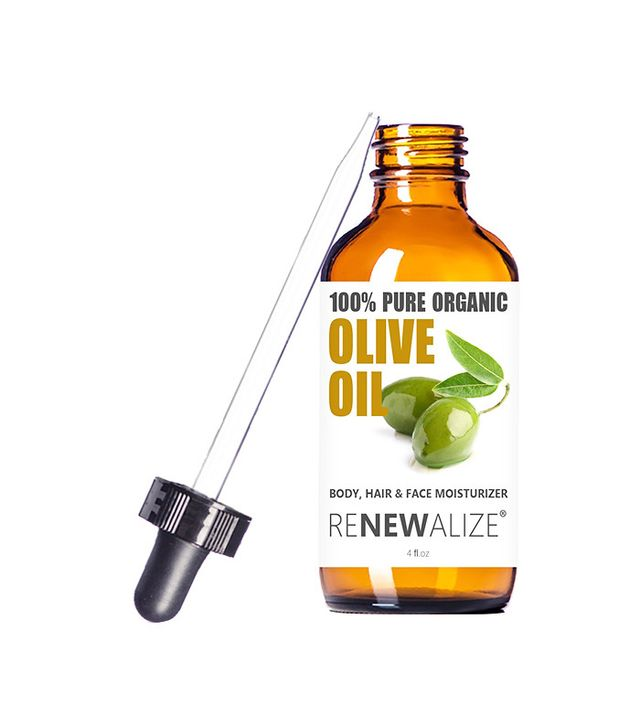 How to make eyebrows thicker naturally: Renewalize Organic Extra Virgin Olive Oil Skin Moisturizer