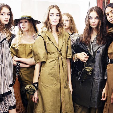 fashion predictions 2017: utility style at Sonia Rykiel
