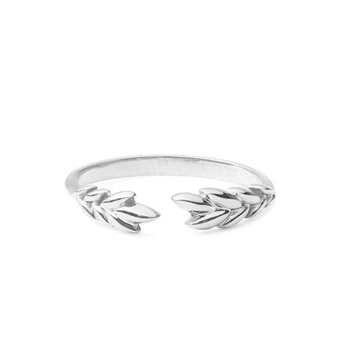 Silver Olive Ring