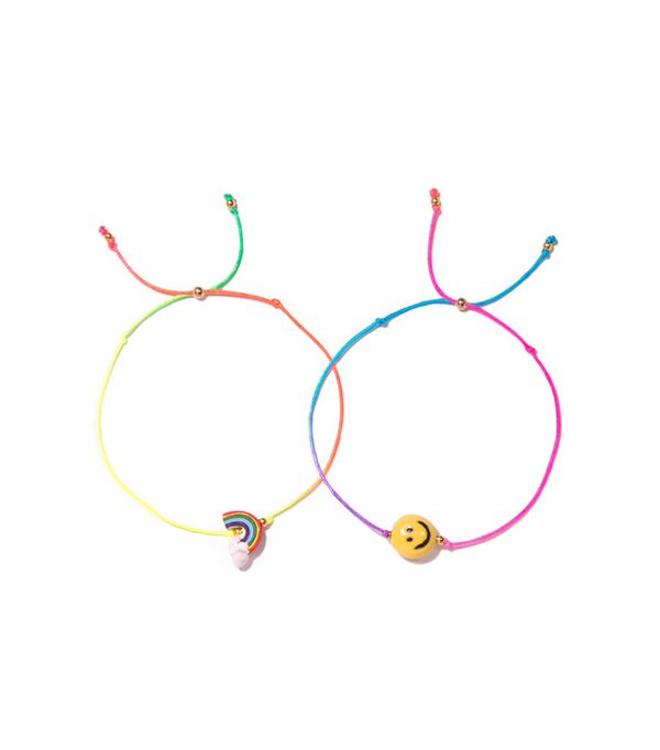 Venessa Arizaga Rainbow Smile Bracelet Set