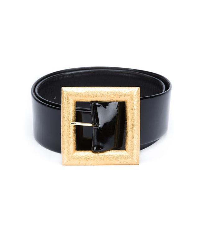 Chanel Vintage Large Buckle Belt