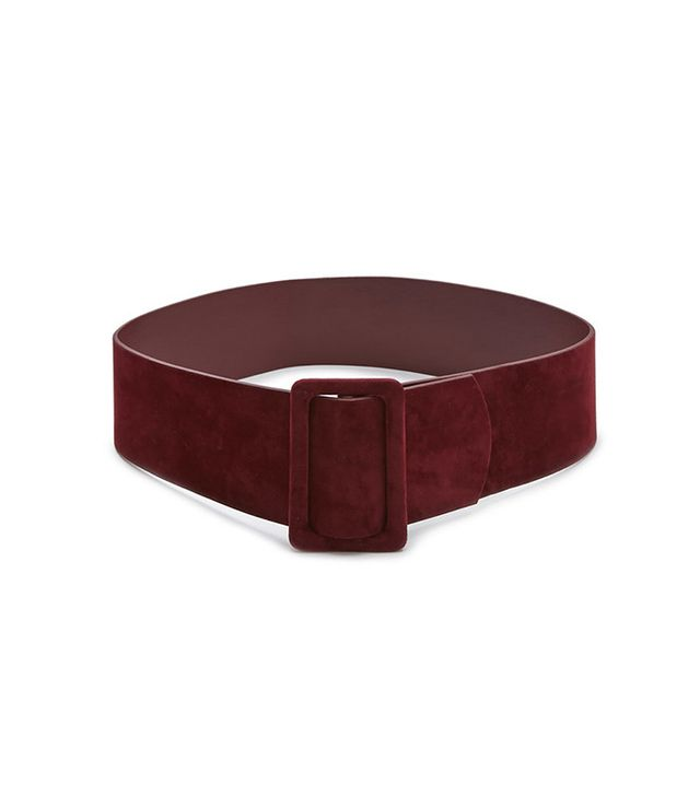 Forever 21 Faux Suede Wide Belt