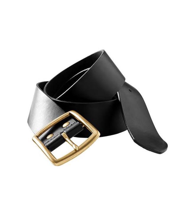 Old Navy Wide Buckled Belt