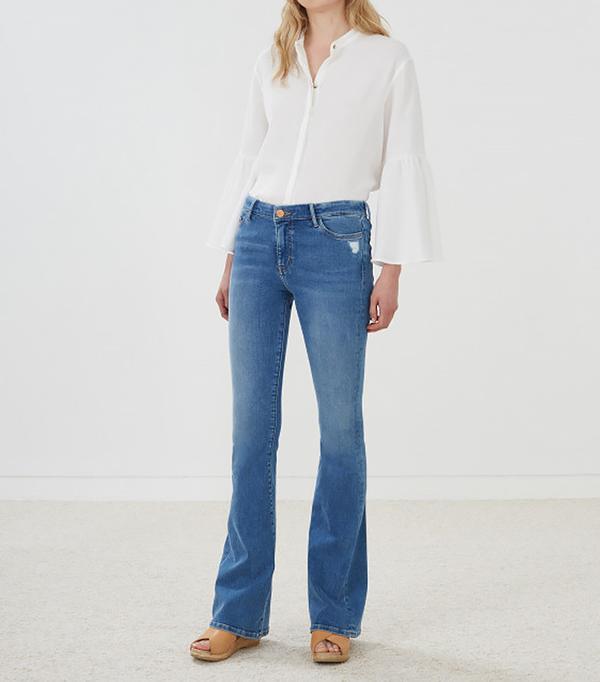 M.i.h Jeans Bodycon Marrakesh Mid-Rise Slim Kick Flare Jean