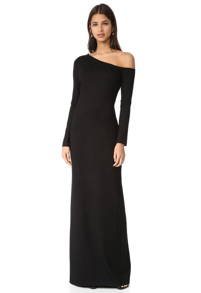 L'Agence Noushin Cold Shoulder Dress