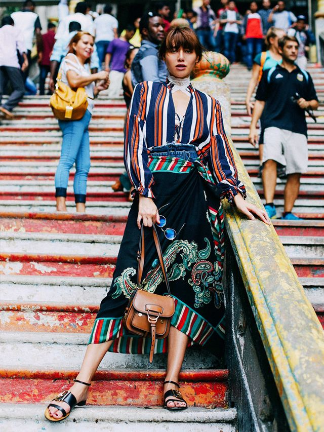 2017 Idea #8: Dress Like You've Been Travelling the Globe