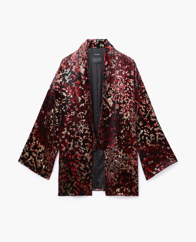 The Kooples Velvet Kimono