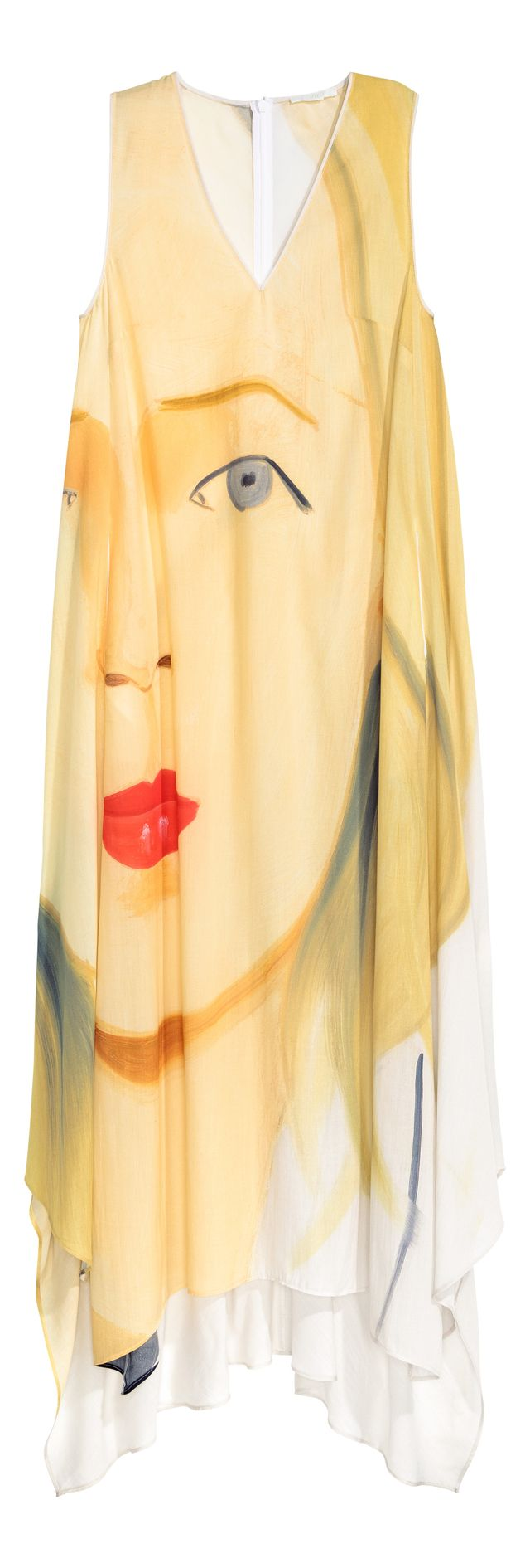 H&M Long Lyocell Dress