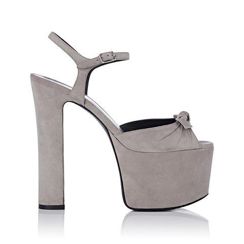 Betty Suede Platform Sandals
