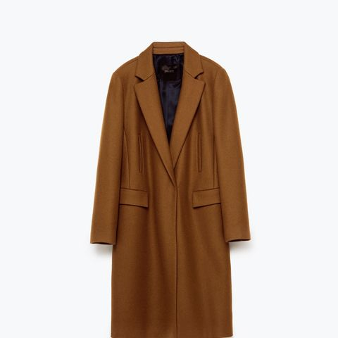 Masculine Double Breasted Coat