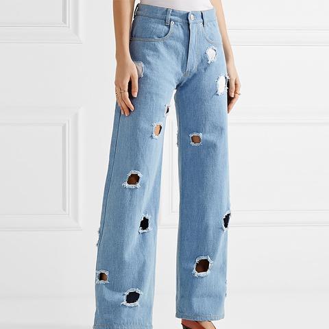 Mia Cutout Boyfriend Jeans