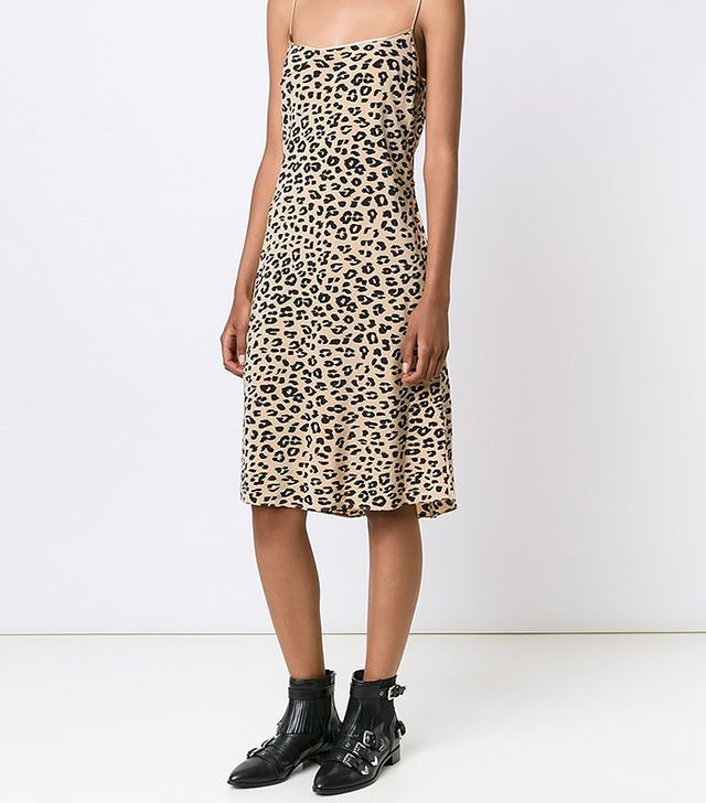 Equipment Animal Print Dress