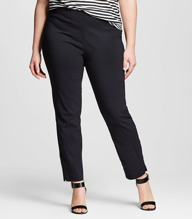 Who What Wear Plus Size Skinny Crop Pants