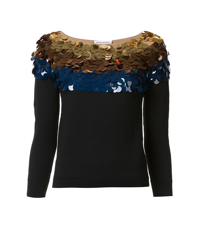 Sonia Rykiel Sequined Sweater